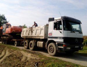 Djedo Kop - prevoz gradevinske mehanizacije