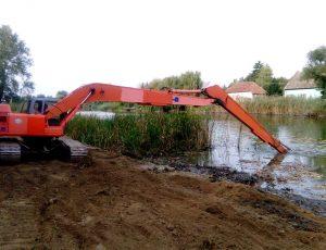 Djedo Kop - izmuljenje kanala, ribnjaka i jezera