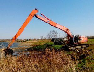 Djedo Kop - izmuljenje kanala i jezera
