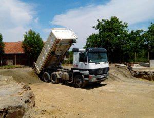 Djedo Kop - transport svih vrsta rasutih gradjevinskih materijala i suta
